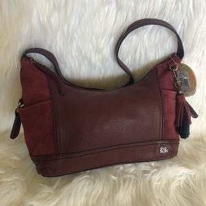 The SAK/ Pebbled Leather/ Hobo Bag